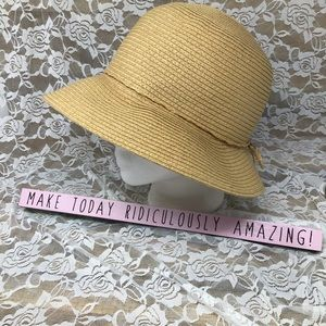 August Hat Company Women's Beach Paper Hat OS